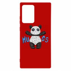 Чехол для Samsung Note 20 Ultra Panda hugs