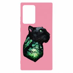 Чохол для Samsung Note 20 Ultra Panther and Forest