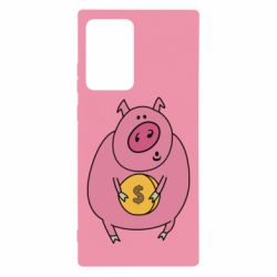 Чохол для Samsung Note 20 Ultra Pig and $