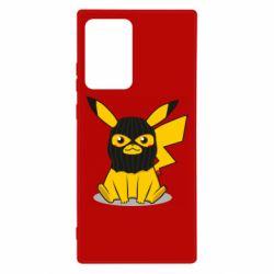 Чехол для Samsung Note 20 Ultra Pikachu in balaclava