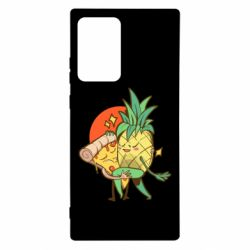 Чехол для Samsung Note 20 Ultra Pineapple and Pizza