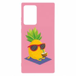 Чехол для Samsung Note 20 Ultra Pineapple with coconut