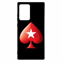 Чохол для Samsung Note 20 Ultra Poker Stars 3D Logo