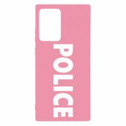 Чехол для Samsung Note 20 Ultra POLICE