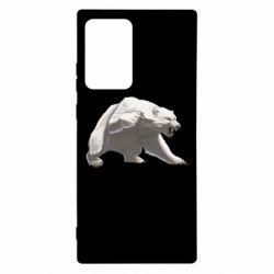Чохол для Samsung Note 20 Ultra Полярний ведмідь