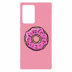 Чехол для Samsung Note 20 Ultra Пончик Гомера