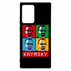 Чохол для Samsung Note 20 Ultra Pop man krymski