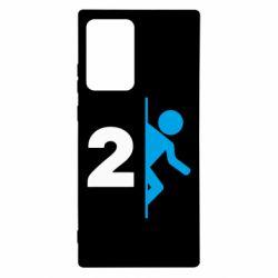 Чехол для Samsung Note 20 Ultra Portal 2 logo