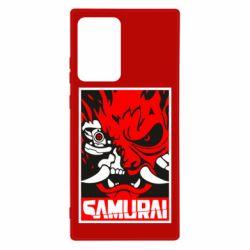 Чохол для Samsung Note 20 Ultra Poster samurai Cyberpunk