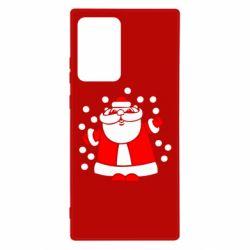 Чохол для Samsung Note 20 Ultra Прикольний дід мороз