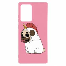 Чехол для Samsung Note 20 Ultra Pug in the suit