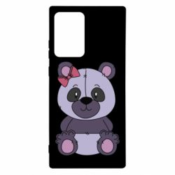 Чохол для Samsung Note 20 Ultra Purple Teddy Bear