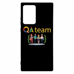 Чехол для Samsung Note 20 Ultra QA+TEAM