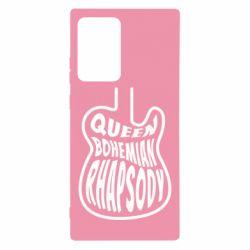Чохол для Samsung Note 20 Ultra Queen Bohemian Rhapsody
