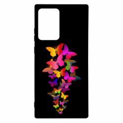 Чохол для Samsung Note 20 Ultra Rainbow butterflies