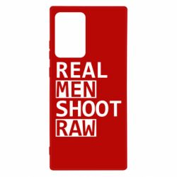 Чохол для Samsung Note 20 Ultra Real Men Shoot RAW