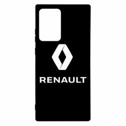Чохол для Samsung Note 20 Ultra Renault logotip