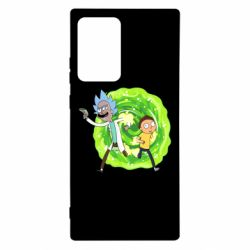 Чохол для Samsung Note 20 Ultra Rick and Morty art