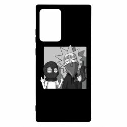 Чехол для Samsung Note 20 Ultra Rick and Morty Bandits