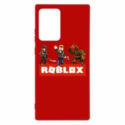 Чехол для Samsung Note 20 Ultra Roblox Heroes