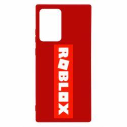 Чехол для Samsung Note 20 Ultra Roblox suprem