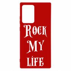Чехол для Samsung Note 20 Ultra Rock my life