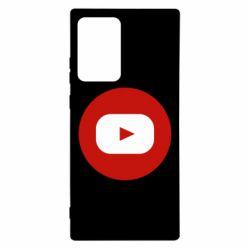 Чохол для Samsung Note 20 Ultra Round logo