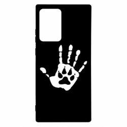 Чехол для Samsung Note 20 Ultra Рука волка
