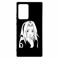 Чехол для Samsung Note 20 Ultra Sakura girl