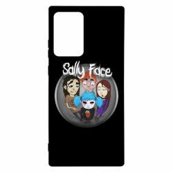 Чехол для Samsung Note 20 Ultra Sally face soundtrack