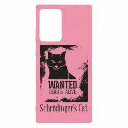 Чохол для Samsung Note 20 Ultra Schrödinger's cat is wanted