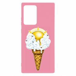 Чохол для Samsung Note 20 Ultra Sea ice cream
