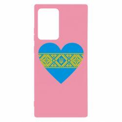 Чехол для Samsung Note 20 Ultra Серце України