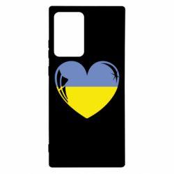 Чохол для Samsung Note 20 Ultra Серце України