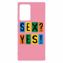 Чехол для Samsung Note 20 Ultra Sex?Yes!