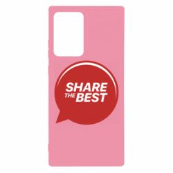 Чехол для Samsung Note 20 Ultra Share the best