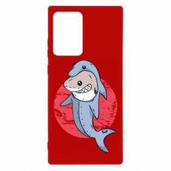 Чехол для Samsung Note 20 Ultra Shark or dolphin