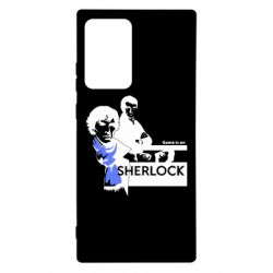 Чехол для Samsung Note 20 Ultra Sherlock (Шерлок Холмс)