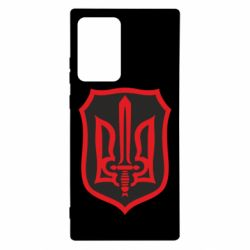 Чехол для Samsung Note 20 Ultra Shield with the emblem of Ukraine and the sword