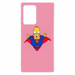 Чехол для Samsung Note 20 Ultra Simpson superman
