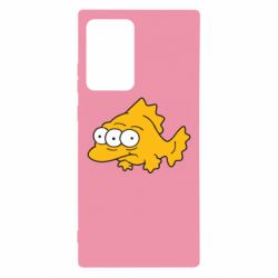 Чехол для Samsung Note 20 Ultra Simpsons three eyed fish