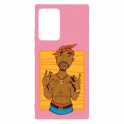 Чохол для Samsung Note 20 Ultra Singer Tupac Shakur