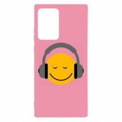 Чехол для Samsung Note 20 Ultra Smile in the headphones