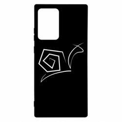 Чехол для Samsung Note 20 Ultra Snail minimalism