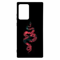 Чохол для Samsung Note 20 Ultra Snake and roses