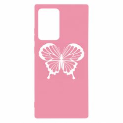Чехол для Samsung Note 20 Ultra Soft butterfly