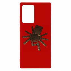 Чехол для Samsung Note 20 Ultra Spider from Minecraft