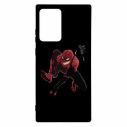 Чехол для Samsung Note 20 Ultra Spiderman flat vector