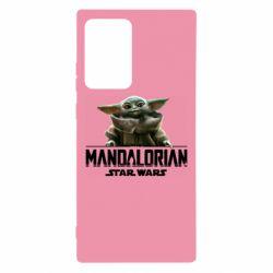 Чехол для Samsung Note 20 Ultra Star Wars Yoda beby