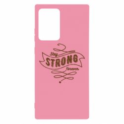 Чохол для Samsung Note 20 Ultra Stay strong forever